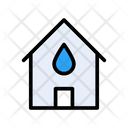House Home Water Icon