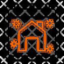 House Home Calendar Icon