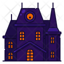 House Haunted Halloween Icon