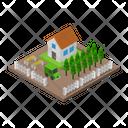 House Isometric Home Icon