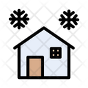 House Home Snow Icon