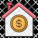 House Saving Banking Icon