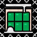 Building Winter Christmas Icon