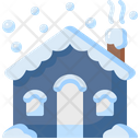 House Winter Real Estate Icon
