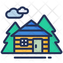 House Cottage Wood Icon