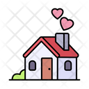 House Home Love Icon