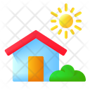 House Home Bright Icon