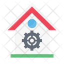 House Construction Building Icon