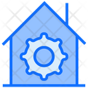 House Building Workshop Icon