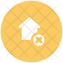 House Cross Sign Icon