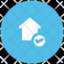 House Check Sign Icon
