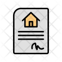 House Contract Icon