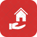 House On Hand Icon