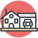 House Home Car Icon