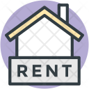 House Rent Sign Icon