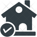 House Checkmark Real Icon