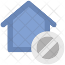 House Remove Sign Icon