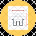 House Plan Construction Icon