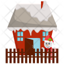 House Santa Claus Icon