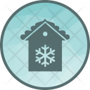 House Snow Home Icon