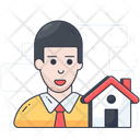 House Agent Home Agent Property Agent Icon