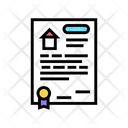House Buy Agreement Icon