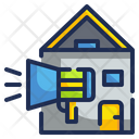 House Annoucement Home Annoucement Marketing House Icon