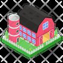 Townhouse Farmhouse House Barn Icon
