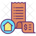 House Bills Home Invoice Home Rent Invoice Icon