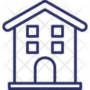 House Building Hut Home Icon