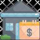 House Calendar Money Icon