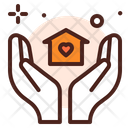House Care Family Care Giving Icon