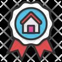 Badge Ribbon Certificate Icon