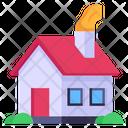 House Smoke House Chimney House Icon