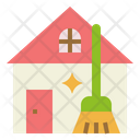 House Clean Housekeeping Icon
