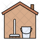 House Dusting Cleaning Icon