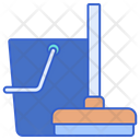 House Cleaning Bucket Cleaning Icon