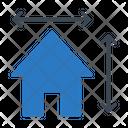 House Home Blueprint Icon