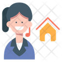 House Consult Home Agent House Broker Icon