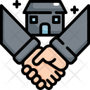House Hand Shakehand Icon