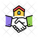 House Buying Handshake Icon