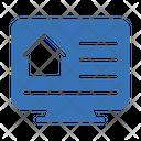 Smart Home Screen Icon