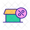 House Discount Icon