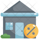 House Discount Real Icon