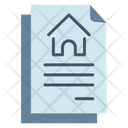 House Document Home Agreement Agreement Icon