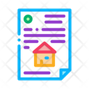 House Document Building Icon