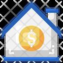 House Dollar House Price Money Icon