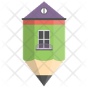 House Drawing House Sketch Icon