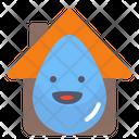 House drop Icon
