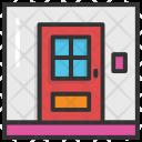 Property Door Front Icon